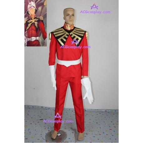 Gundam Seed Char Aznable Uniform Cosplay Costume