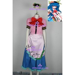 Touhou Project Scarlet Weather Rhapsody Tenshi Hinanai Cosplay Costume