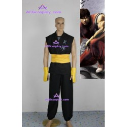 Street Fighter Zero 3 Guy Cosplay Costume black version