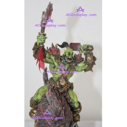 WOW World of WarCraft Blizzard Resin Figure Orcish Wolf Rider small colourful