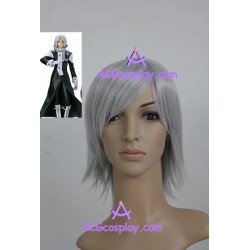 D.Gray-man Allen Walker Cosplay Wig greyish white