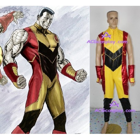 X-men cosplay costume leatherette made