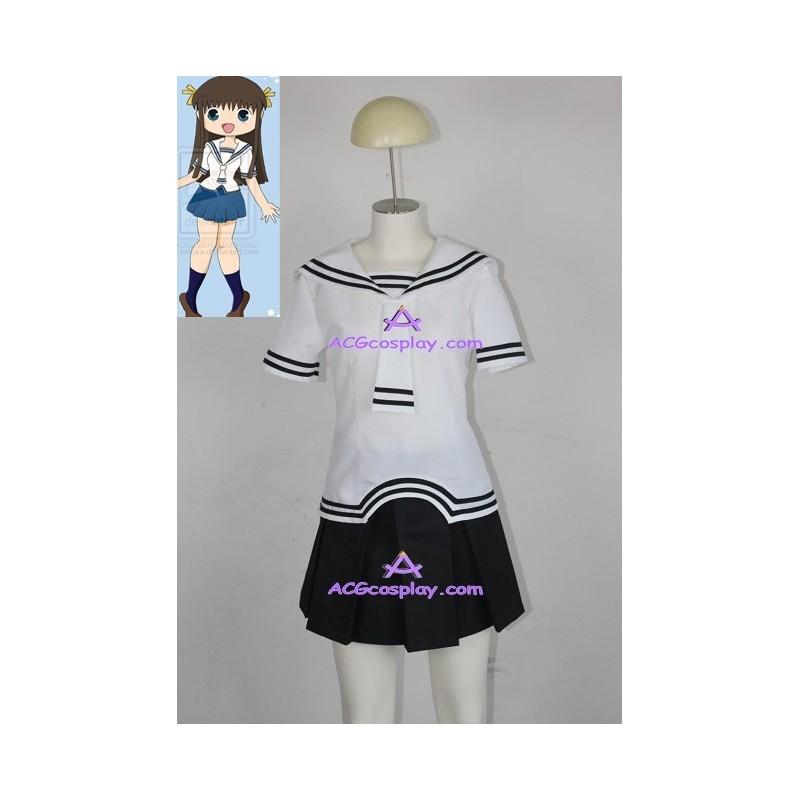 Fruits Basket Tohru Honda cosplay costume school uniform
