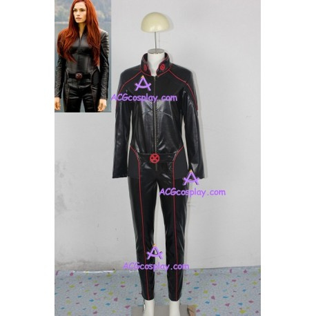 X-Men Jean Grey cosplay costume incl. gloves synthetic leather made