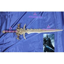WOW world of warcraft Lich King Arthas Frostmourne sword Resin made cosplay props