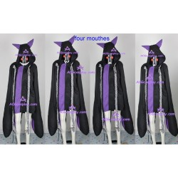 BlazBlue Taokaka cosplay black version whole set incl.claws props and led light eyes