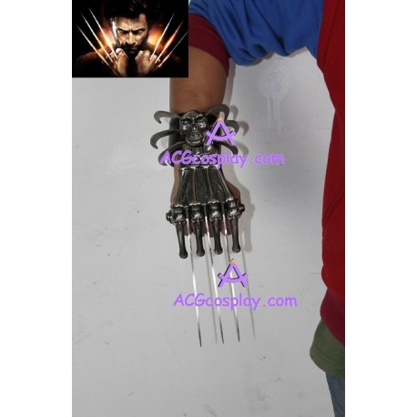 X-men style claws stainless steel prop 1 piece
