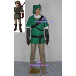 Legend of zelda Twilight Princess Link Cosplay Costume