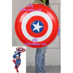 Marvel comics Captain America Metal Shield 27inch cosplay prop