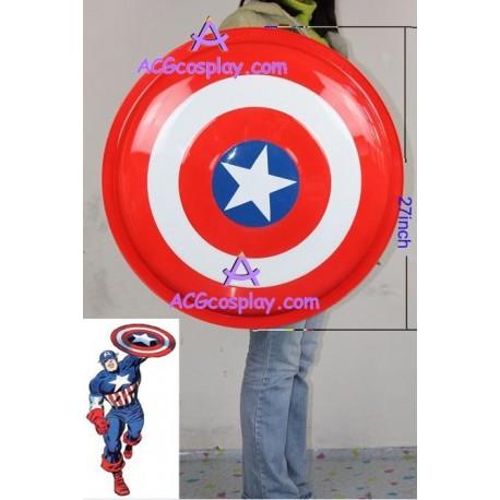 Marvel comics Captain America Metal Shield 27inch cosplay prop