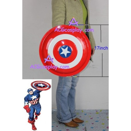 Marvel comics Captain America Metal Shield 17inch cosplay prop