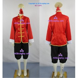 Axis Powers Hetalia China Wang Yao Cosplay Costume