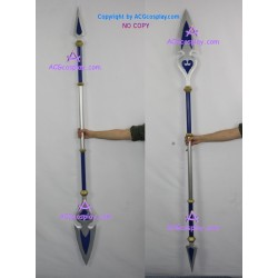 Kingdom Hearts Birth by Sleep long spear cosplay prop detachable