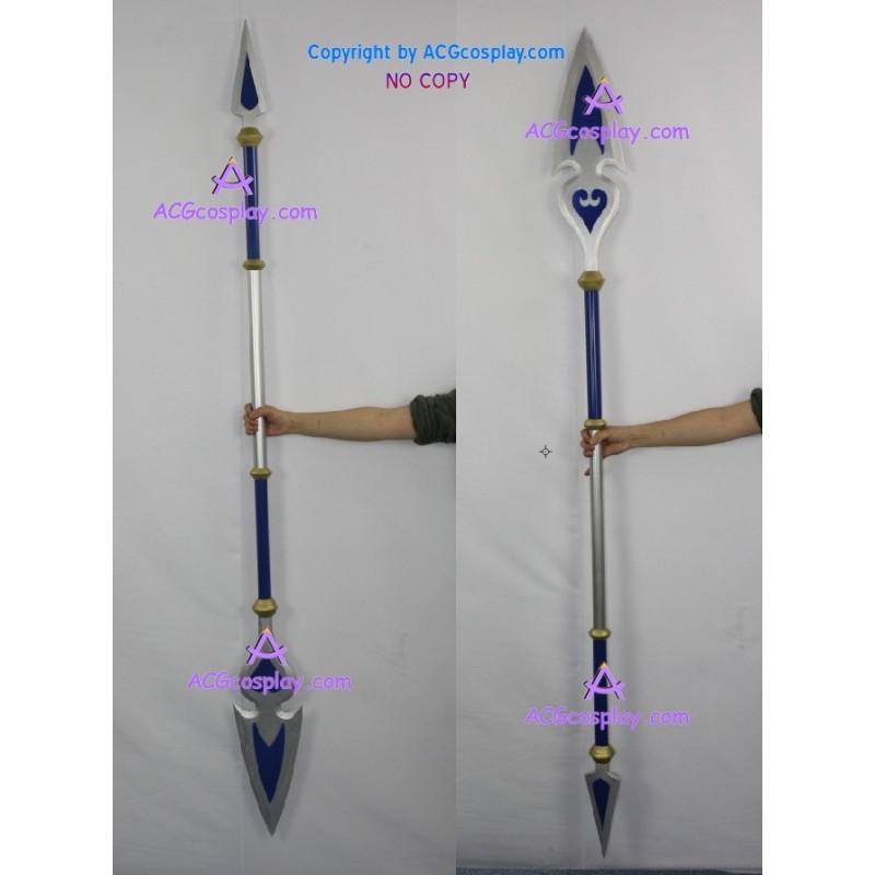 Kingdom Hearts Birth by Sleep long spear cosplay prop
