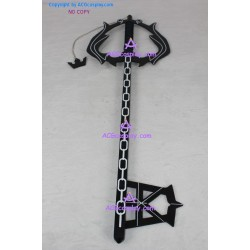 Kingdom Hearts Oblivion Keyblade cosplay props WOOD made simple version