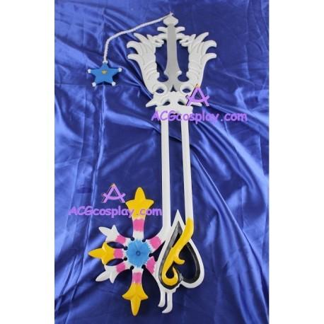 Kingdom Hearts Oathkeeper Keyblade cosplay props