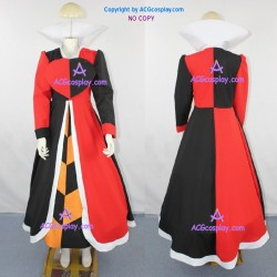Alice in the Wonderland Queen of Hearts  Cosplay Costume