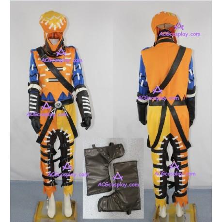Hack Gu Azure Kite Cosplay Costume