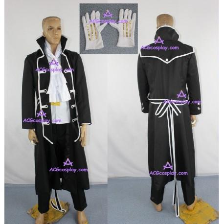 Pandora Hearts Gilbert Nightray Cosplay Costume