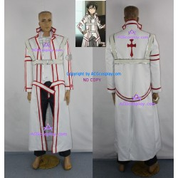 Sword Art Online Kazuto Kirigaya Kirito cosplay costume Knight of the Blood cosplay