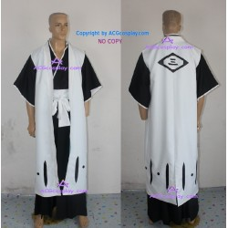 Bleach 3rd Division Captain Ichimaru Gin Cosplay Costume ACGcosplay