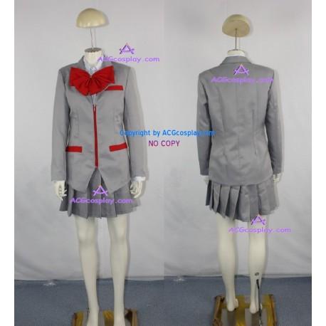 Bleach Kuchiki Rukia Girl School Uniform cosplay costume