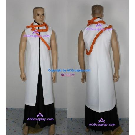 Bleach Kaname Tousen Arrancar Cosplay Costume incl. gloves