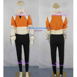 Bleach Yoruichi Shihoin Orange Jumper Cosplay Costume