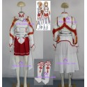 Sword Art Online Asuna Yuuki Cosplay Costume high quality