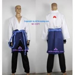 Naruto Shippuden Sasuke Uchiha Cosplay Costume