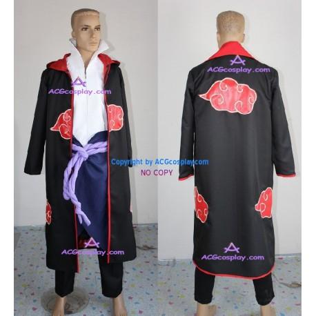 Naruto Akatsuki Sasuke Uchiha Cosplay Costume