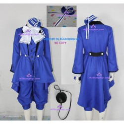 Black Butler Kuroshitsuji Ciel Phantomhive cosplay Costume incl. eyepatch and headwear