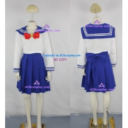 Sailor Moon Serena School Girl Cosplay Costume