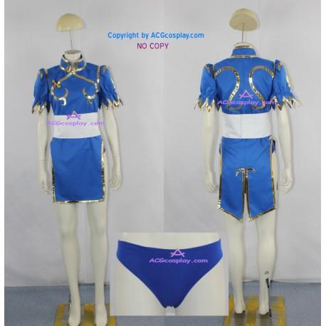 Street Fighter Chun-Li cosplay costume chun li dress include undershort ACGcosplay