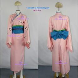 Gintama Tae Shimura Cosplay Costume kimono costume