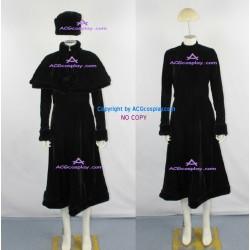 Galaxy Express 999 Maetel Legend Cosplay Costum black velvet fabric made