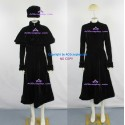 Galaxy Express 999 Maetel Legend Cosplay Costum black velvet fabric made