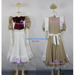 Hetalia Axis Powers Italy Little Italy Cosplay Costume maid costume