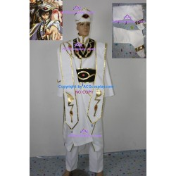 Code Geass Emperor Cosplay Costume include hat and boots cover