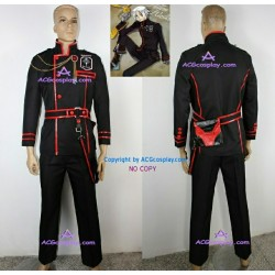 D.Gray-man Allen Walker cosplay costume include bag