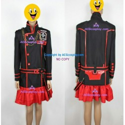 D.Gray-man Lenalee Lee red skirt version Cosplay Costume