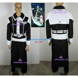 D.Gray-Man Kanda Yuu cosplay costume