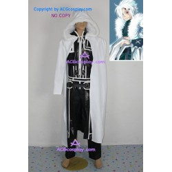 D.Gray-man Allen Walker Crown Clown costume faux leather made ACGcosplay