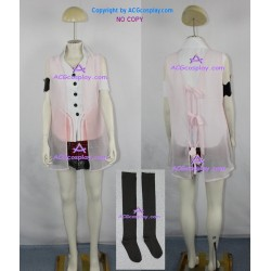 Final Fantasy XIII 13 Serah Farron cosplay costume include stockings ACGcosplay