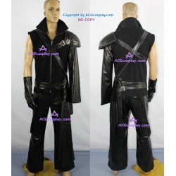 Final Fantasy VII 7 Cloud Strife cosplay costume puleather made