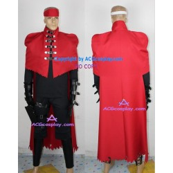 Final Fantasy 7 VII Vincent Valentine Cosplay Costume