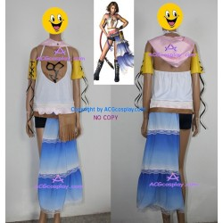 Final Fantasy 7 Yuna Cosplay Costume