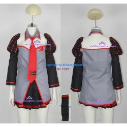 Vocaloid Miku Zatsune cosplay costume include long stockings