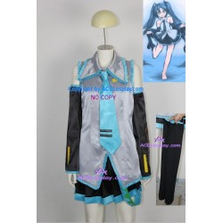 Vocaloid Hatsune miku cosplay costumes with headphone