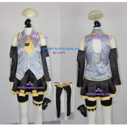 Vocaloid Neru Akita Cosplay Costume include stockings and hair ornament